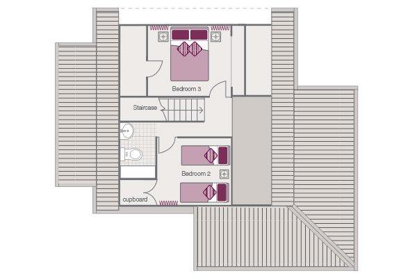Cottage Free Standing Floor Plan