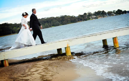 Bride and Groom Jetty