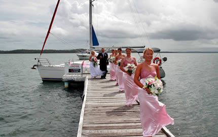 Wedding on the Jetty