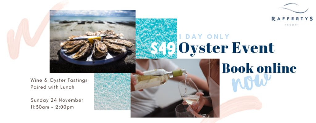 One Day Oyster Event – Sunday 24th November